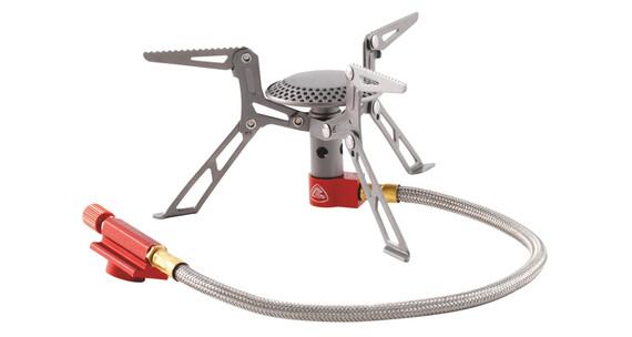 Robens Fire Bug - Réchaud à gaz - Titanium gris/rouge